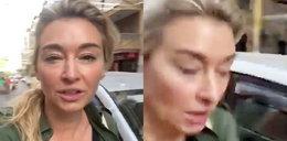 Wojciechowska potrącona przez samochód. Wszystko się nagrało