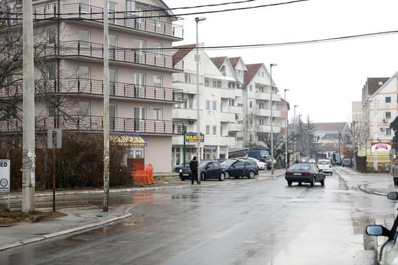 Nemanjina ulica u Obrenovcu