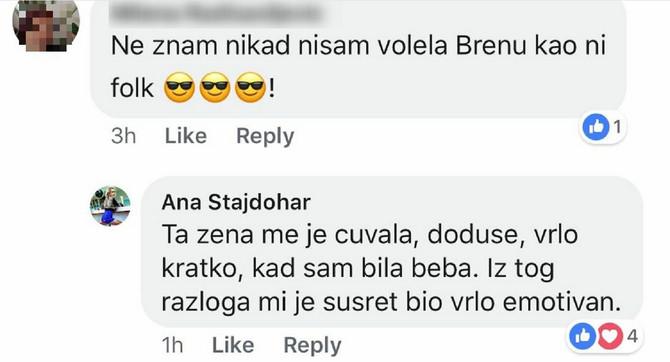 Anin komentar na Fejsbuku
