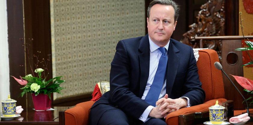 Cameron wypowiedział się na temat referendum w sprawie brexitu