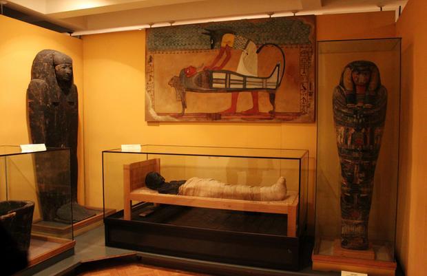 """Racibórz, wystawa """"W domu Ozyrysa"""" w muzeum"""