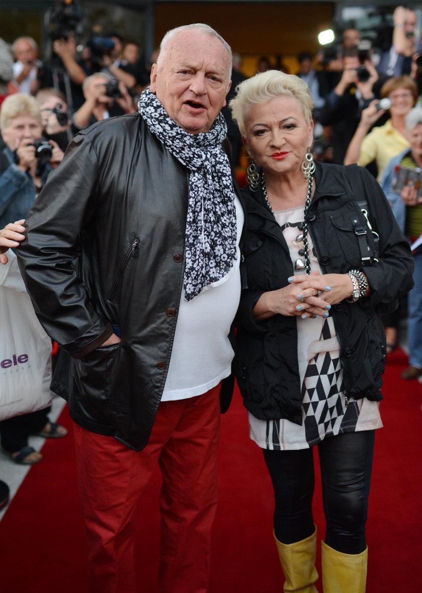 Jerzy Gruza i Hanna Bakuła