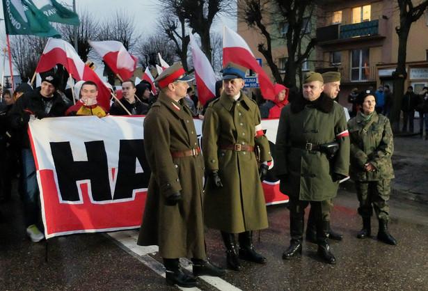 II Marsz Żołnierzy Wyklętych w Hajnówce.