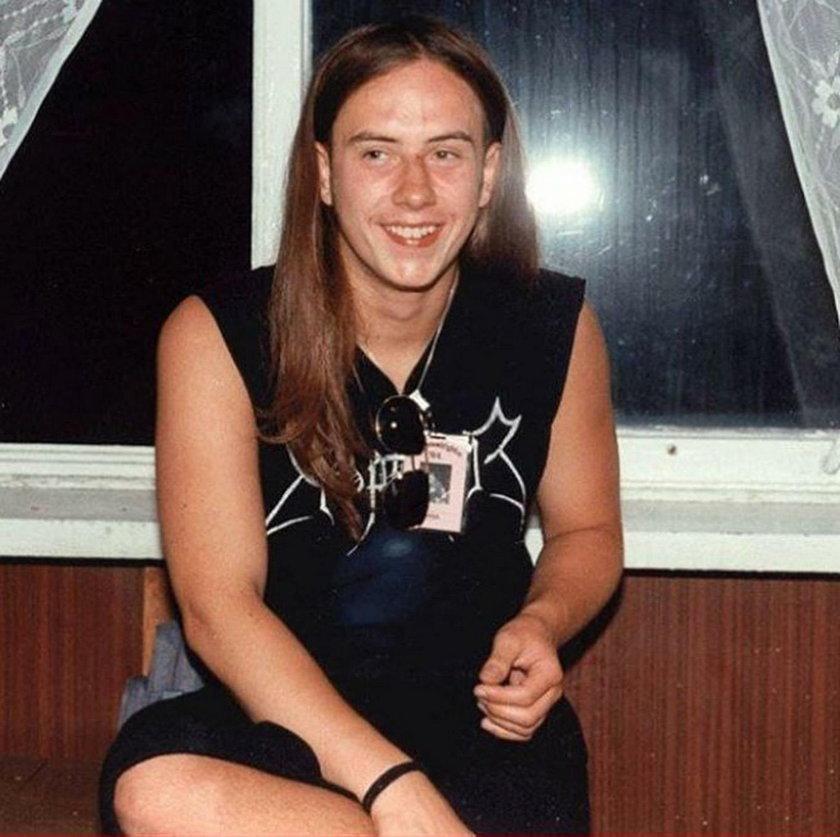 Nergal pokazał zdjęcie z młodości. Internauci w szoku