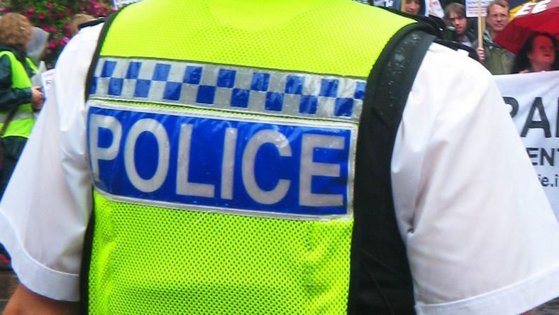 Brytyjski policjant