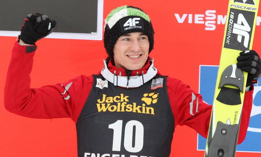 Kamil Stoch jednym z faworytów Turnieju Czterech Skoczni