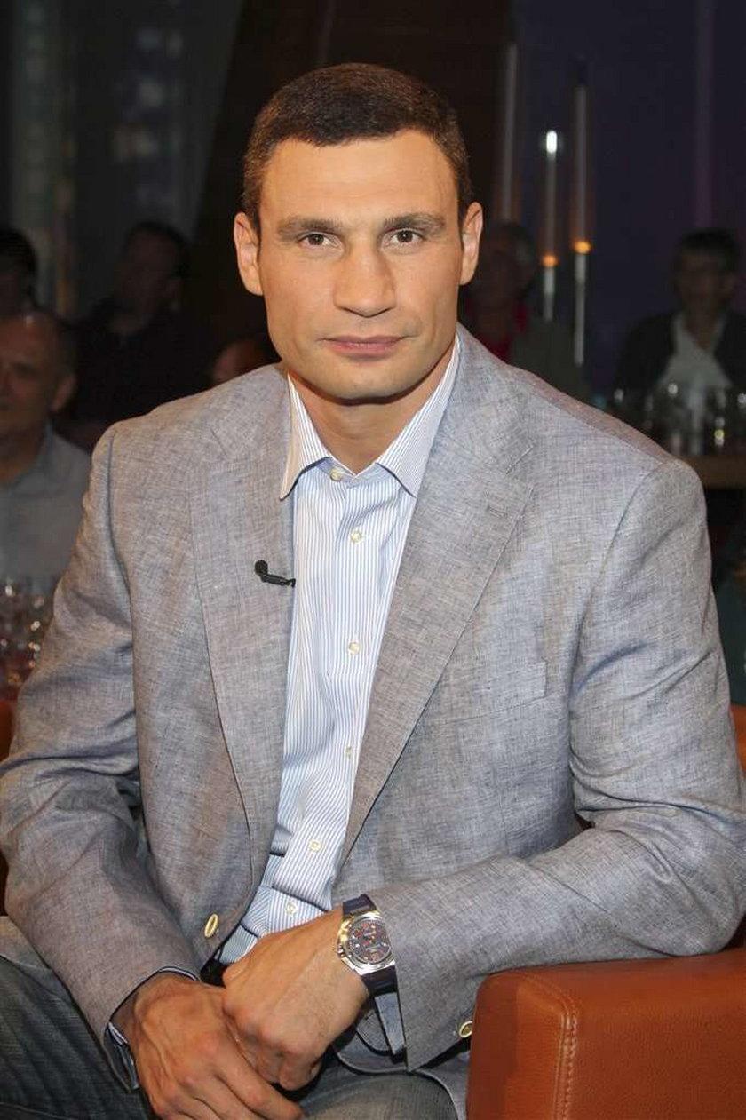 Witalij Kliczko chce być prezydentem Ukrainy!