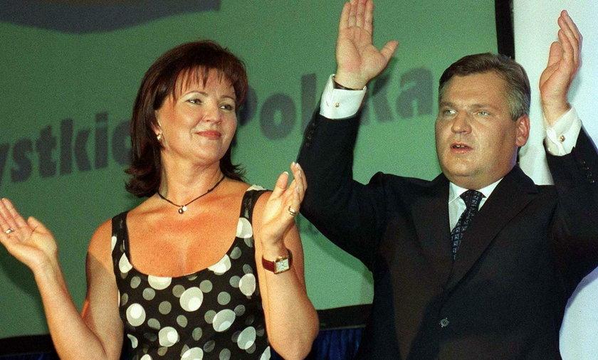 Aleksander i Jolanta Kwaśniewscy