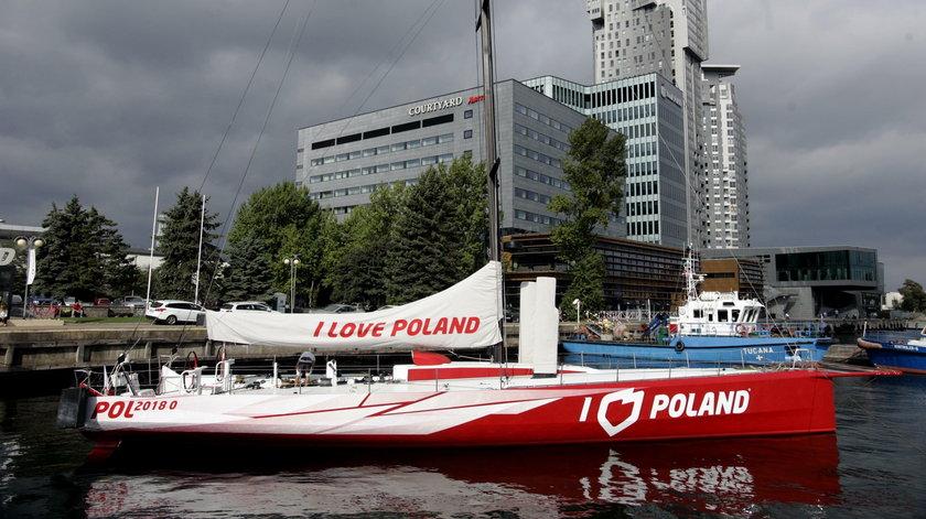 JACHT I LOVE POLAND