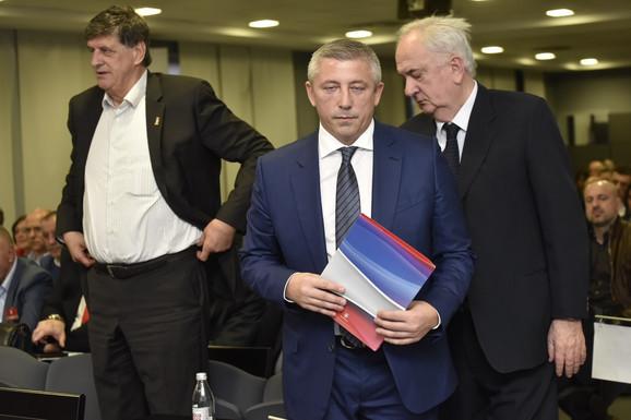 Žarko Zečević, Slaviša Kokeza i Božidar Maljković
