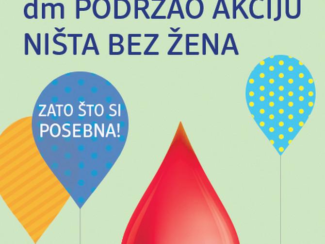 Dm podržava žene davaoce krvi