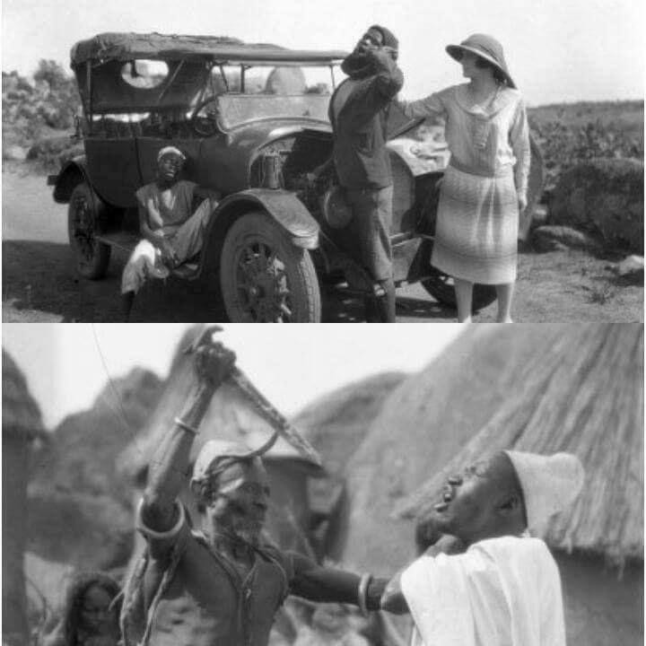 'Palaver' was directed by Geoffrey Barkas and shot in 1926 [Ohafrika]