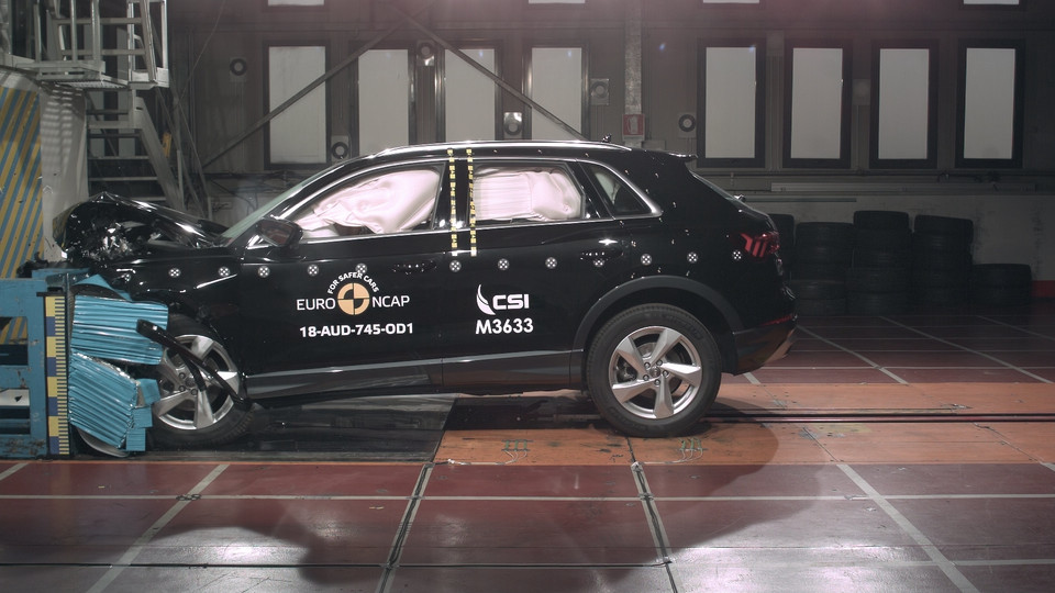 Crash-test Audi Q3