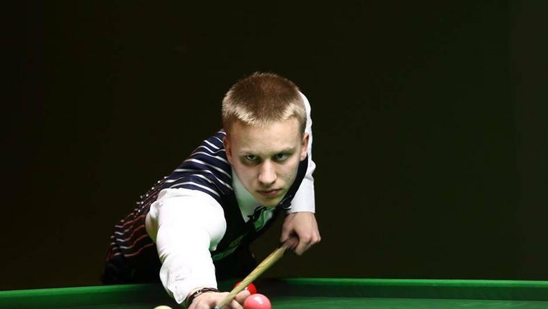 Kacper Filipiak (fot. Polish Snooker by Morska&Ochman)
