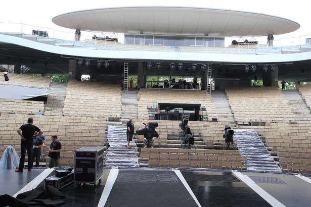 Amfiteatr w Opolu (zdjęcie archiwalne)