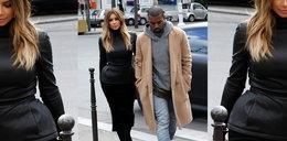 Mroczna stylizacja Kim Kardashian