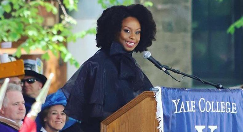 Adichie Chimamanda offers great advice during her Class Day speech at Yale