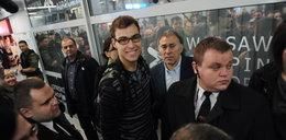 Janowicz już w kraju. Na lotnisku czekali rodzice