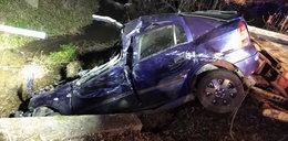 Tragiczny wypadek na Podkarpaciu. Auto wpadło do rzeki