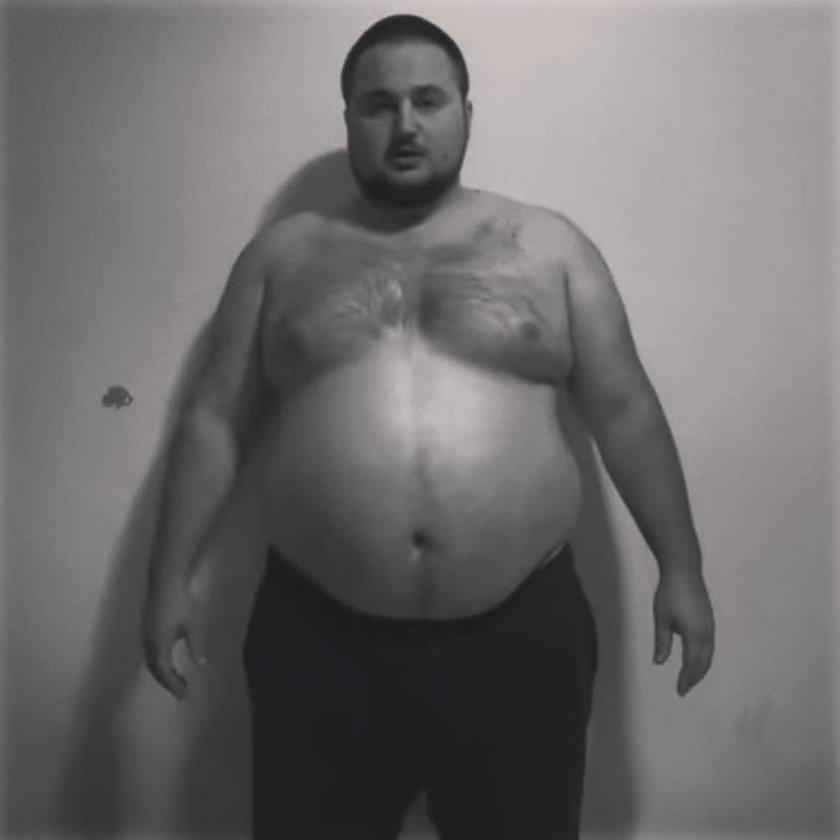 Próbował się zabić, chorował na otyłość. Teraz chce pokonać Najmana w klatce