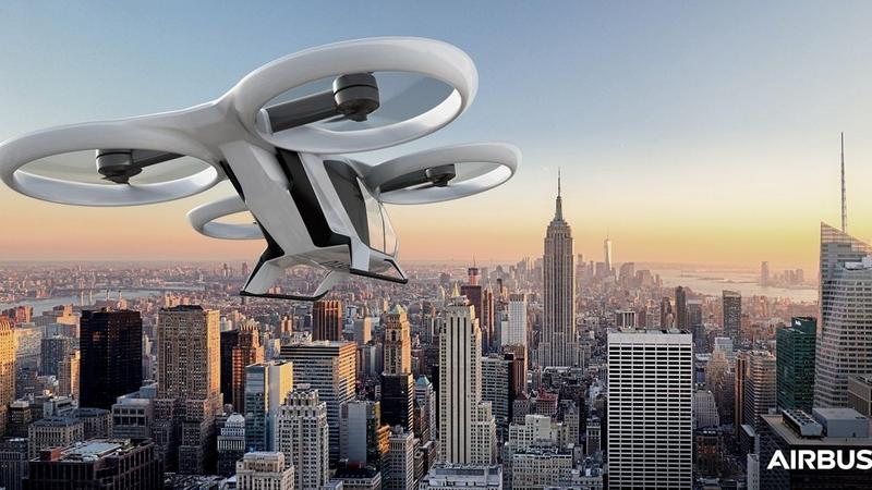 Testy latających taksówek Airbusa ruszą w 2018