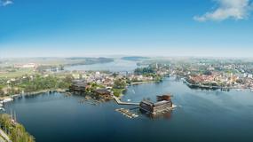 Mikołajki - hotel na środku jeziora?!