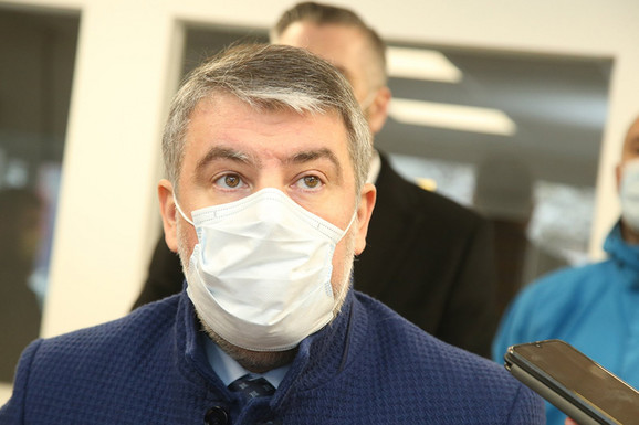 Alen Šeranić, ministar zdravlja i socijalne zaštite RS