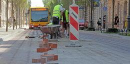 Ulice zamknięte w wakacje w Łodzi. Wszędzie remonty