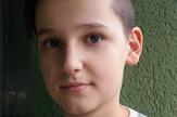 Novi Sad dečak Nemanja Stracenski ceo džeparac poslao kao pomoć foto Privatna arhiva