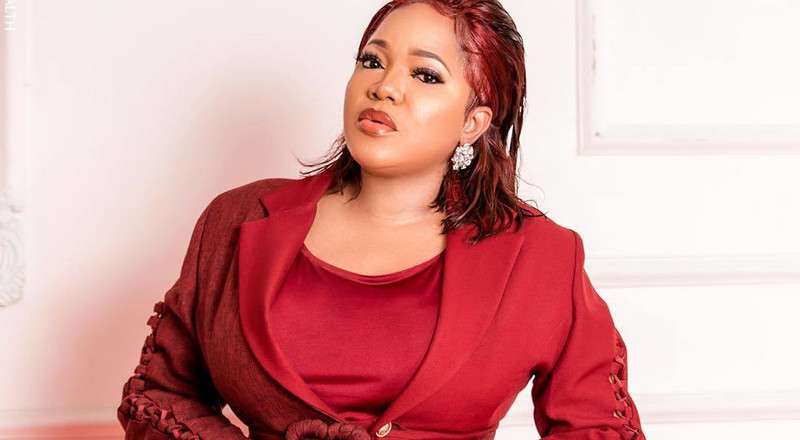 Toyin Abraham shares never-before-seen video during childbirth as she celebrates Mothers Day