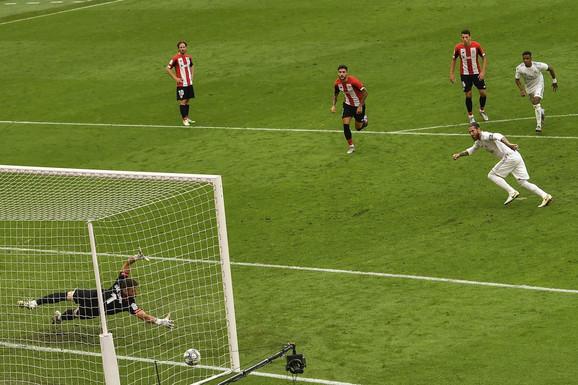 Serhio Ramos pogađa sa penala za pobedu FK Real Madrid na gostovanju u Bilbau