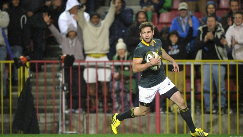 Cobus Reinach, pictured in 2014, said he hoped to end his time in Natal on a high in the Super Rugby Championship