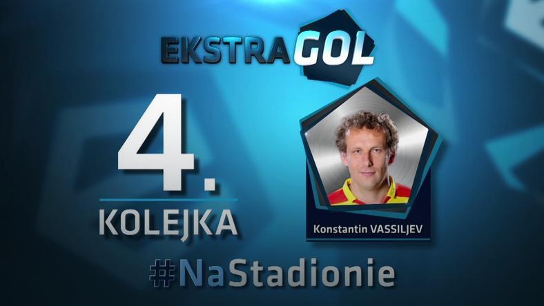 EkstraGol - Konstantin Vassiljev zwycięzcą w 4. kolejce
