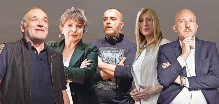 KOMBO foto RAS Đorđe Balašević, Nikola Kojo, Mirjana Karanović, Jelena Zorić