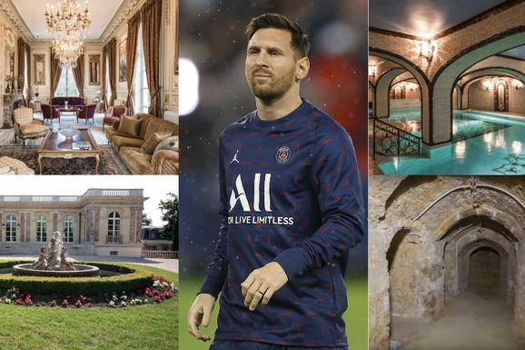 Kako li će deca reagovati: Mesi će u Parizu živeti u dvorcu koji KAO DA JE IZ HORORA! Ima tajne podzemne prostorije, bazen, bioskop...