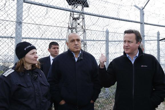 Bojko Borisov sa Dejvidom Kameronom, premijerom Britanije