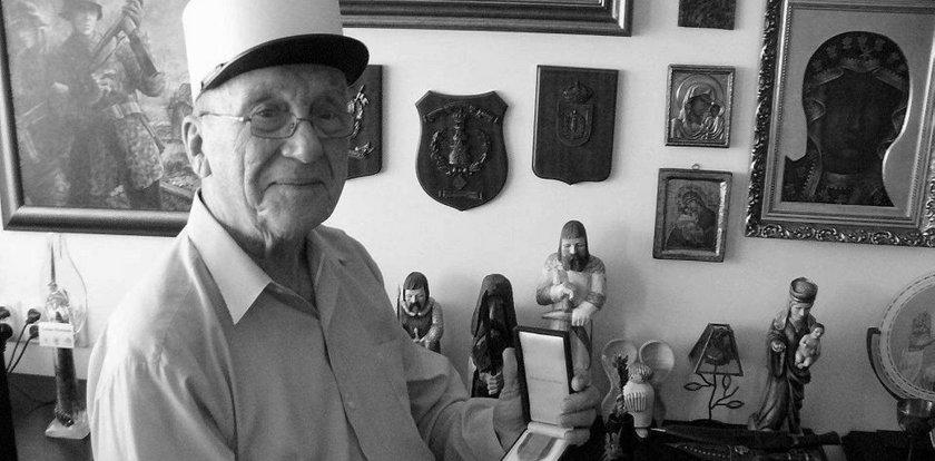 """Nie żyje Zygmunt Jatczak ps. """"Ryszard"""". Bohater Powstania Warszawskiego miał 97 lat"""