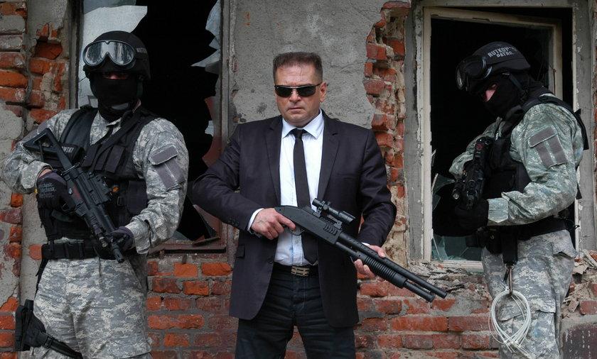 krzysztof rutkowski plan filmowy Gangsterem być