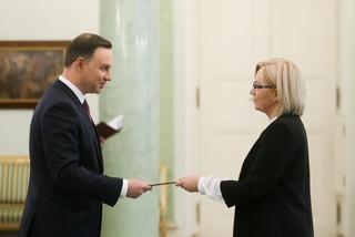 Andrzej Duda powołał Julię Przyłębską na stanowisko prezesa Trybunału Konstytucyjnego: 'Chciałbym, aby pani prezes uporządkowała sprawy TK'