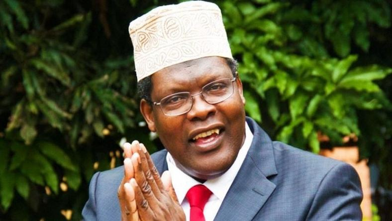 Miguna Miguna during an interview
