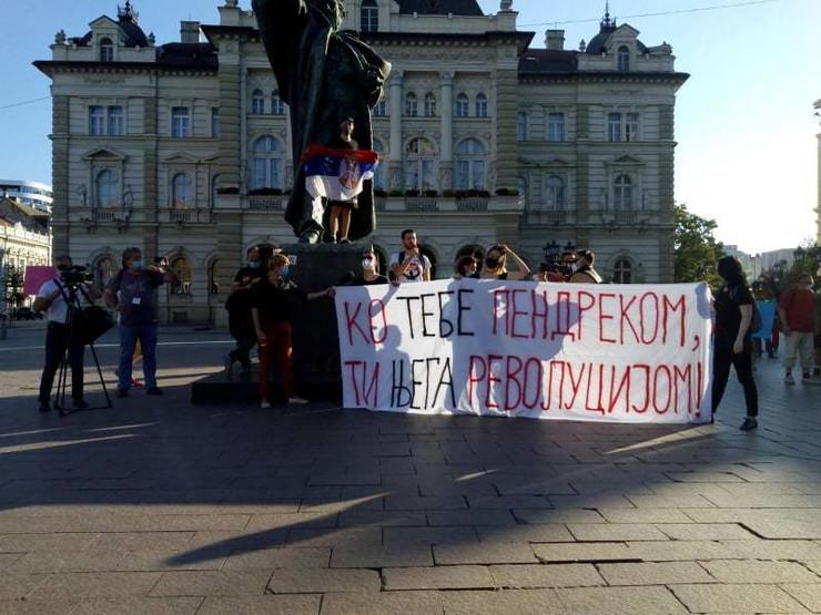 Novi Sad protest 4 dan