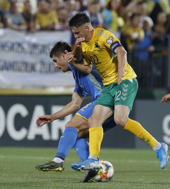 Fudbalska reprezentacija Ukrajine, Litvanije