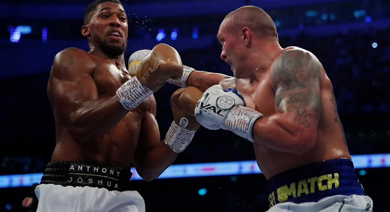 Oleksandr Usyk dominated Anthony Joshua for most of the fight to get the win (Action Images via Reuters)