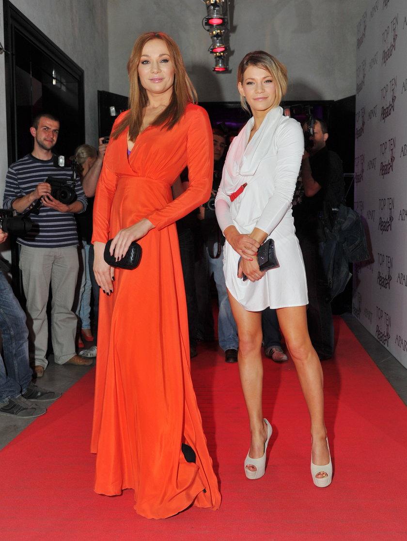 Sonia Bohosiewicz i Maja Bohosiewicz na czerwonym dywanie