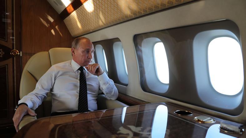 Putin w drodze do Syrii
