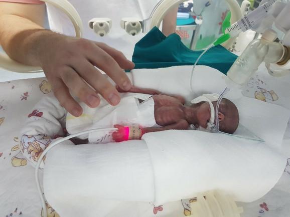 Najmanja srpska beba