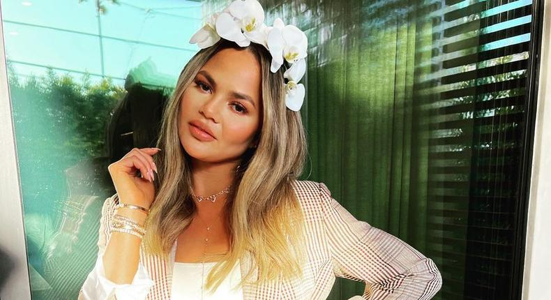 American model and TV host Chrissy Teigen [Instagram/ChrissyTeigen]