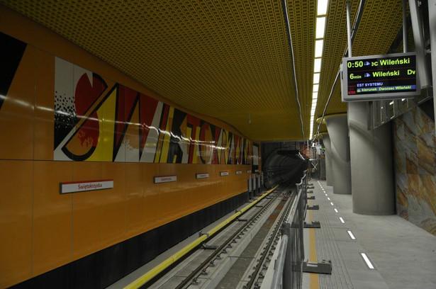 Stacja C11 Świętokrzyska fot. metro.waw.pl