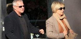 Marek Kondrat z żoną. W restauracji popijali...