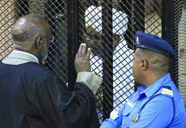 Sudan's ousted dictator, Omar al-Bashir in military jail.